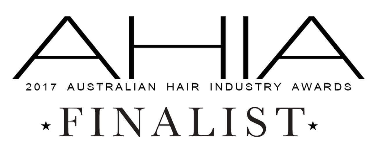Samantha Jones Hair Co Awards - AHIA Australian Hair Industry Awards 2017 Finalist for Newcomer and 2018 Finalist for Best Customer Care