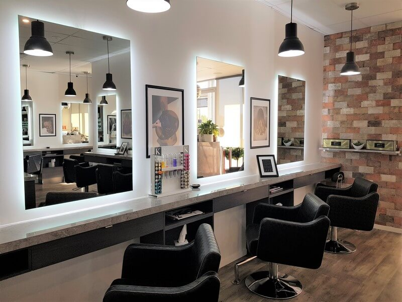 Samantha Jones Hair Co Our Salon Gallery - Comfortable and Well-Lighted Salon Chairs Sidewards