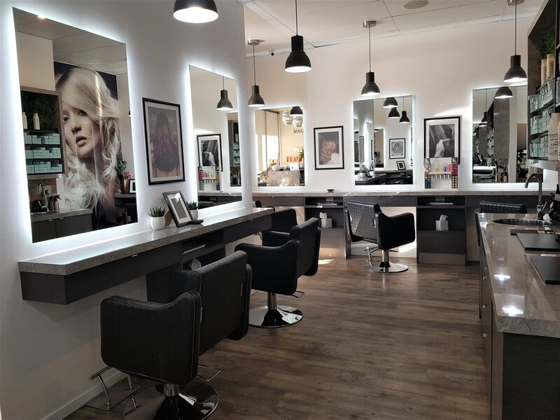 Samantha Jones Hair Co Our Salon Gallery - Comfortable and Well-Lighted Salon Office