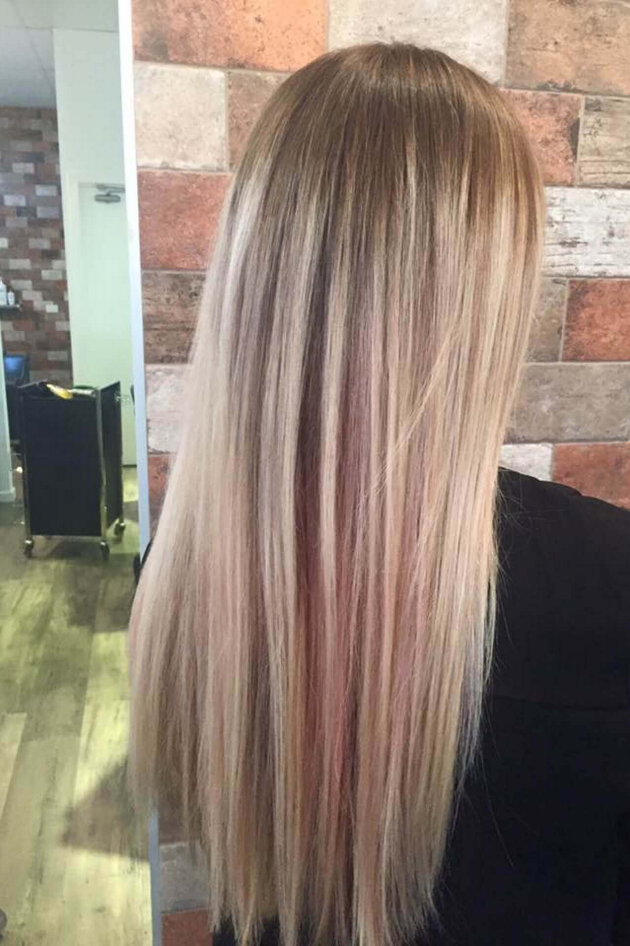 Samantha Jones Hair Co Our Work Image Gallery - Long Blonde Straight Hair