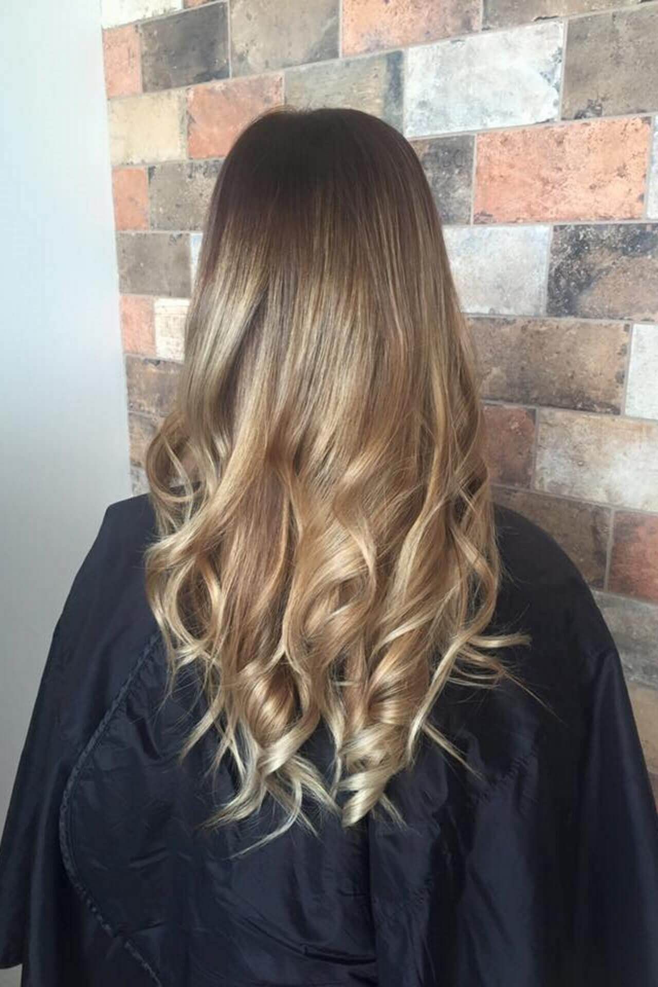 Samantha Jones Hair Co Our Work Image Gallery - Long Natural Wave Hair Hairdo Wavy Curly Ends