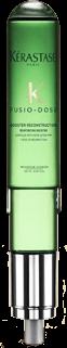 Samantha Jones Hair Co Spa Treatments for Hair Main Background Image - Fusio-Dose Rituals Booster Reconstruction Green Kerastase